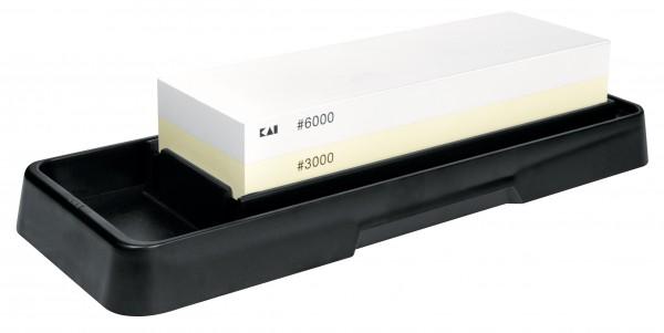 Kombinationschleifstein AP-0316 25,2 x 9,4 x 5,0 cm, Körnung 3000/6000